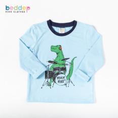 Áo thun dài tay Beddep Kids Clothes in hình cho bé trai từ 1 đến 8 tuổi B16