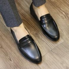 Giày Lười Nam Da Bò Cao Cấp UDANY Thiếu Kế Sang Trọng Lịch Lãm – GLN05 – Chuẩn Soái Ca