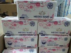 giấy rút lụa cao cấp MEDIA MART 300 TỜ 3 LỚP
