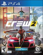 [US-NEW] Đĩa game The Crew 2 – PlayStation 4