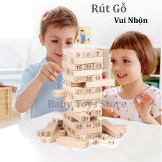 Bộ trò chơi rút gỗ loại lớn 47 thanh và loại nhỏ 54 thanh – Đồ chơi cho trẻ từ 6 tuổi – Quà tặng sinh nhật cho bé trai, bé gái