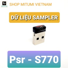 Usb Dữ liệu Sampler Đàn Yamaha Psr -S770