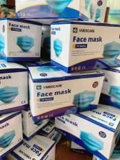 Khẩu Trang Y Tế 4 Lớp Hộp 50 cái VMADECARE FACE MASK Dày Mịn, Chứng Nhận ISO, Giấy Tờ Đầy Đủ