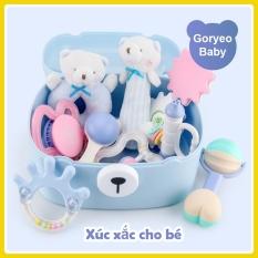 ✱ 👑MẪU MỚI👑Bộ đồ chơi xúc xắc gặm nướu Goryeo Baby Hàn Quốc cho bé từ 0 – 24 tháng