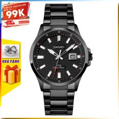 [TẶNG HỘP VÀ PIN] Đồng hồ nam đẹp dây thép không gỉ SKMEI 1654 đồng hồ chính hãng giá rẻ thời trang cho nam