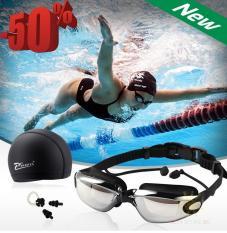 Kính Bơi,Kính Bơi Cận Phoenix,Kính Bơi Người Lớn,Trẻ Em và Kính Bơi Cận,Mua Ngay Combo Kính Bơi Gồm Kính +Mũ +Kẹp Mũi +Kẹp Tai Cao Cấp Chất Lượng BH 1 đôỈ 1 Trong 12T Bởi TECH365 shop(GIẢM-50%)