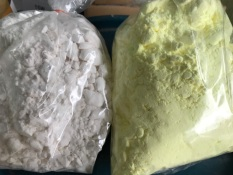 COMBO 1kg Phân bón KClO3 VS 1KG LƯU HUỲNH Xay Mịn tinh khiết 99,9%