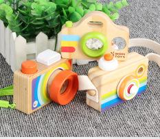 Máy chụp hình bằng gỗ – Đồ chơi gỗ – Phụ kiện chụp hình decor