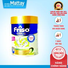 Sữa Friso Nga Số 2 – Lon 400gr – Nội Địa Nga