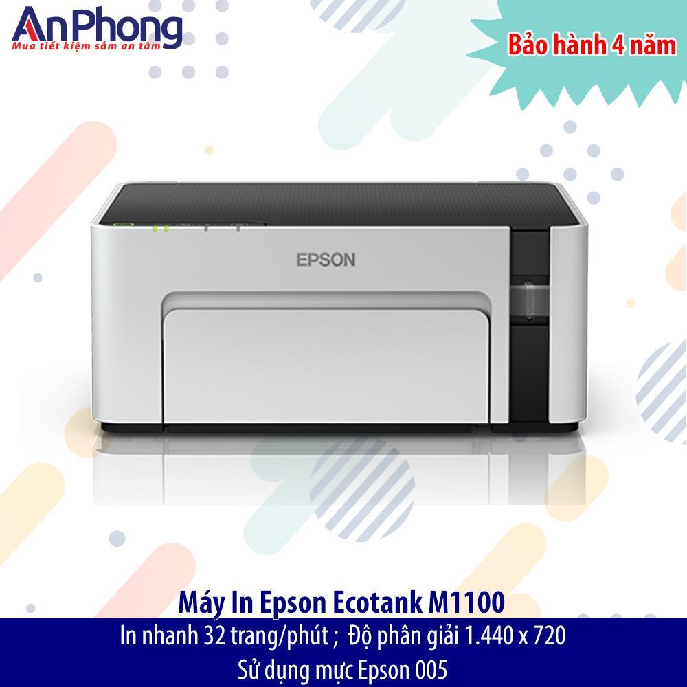 Máy in Phun đen trắng Epson M1100 - In