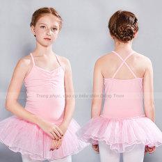 Váy bale múa cho bé yêu, co dãn 4 chiều, thoải mái khi hoạt động
