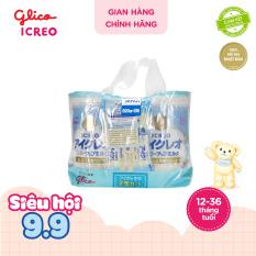 [TẶNG BALO trị giá 900k đơn 3499k] [FREESHIP TOÀN QUỐC] CB Glico Icreo Follow up Milk số 1 gồm 2 hộp 820g & 5 thanh sữa tiện dụng (5 thanh x 13.6g) – 100% nội địa Nhật Bản – HSD tối thiểu 10 tháng