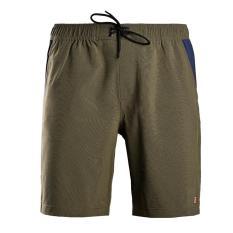 Quần short thể thao nam quần đùi thun nam polyester cao cấp Breli – BQS9010-1M-GMO (Xanh rêu)