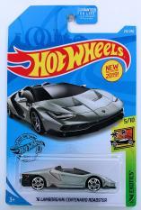 Xe ô tô mô hình tỉ lệ 1:64 Hot Wheels '16 Lambo Centenario Roadster ( màu xám )