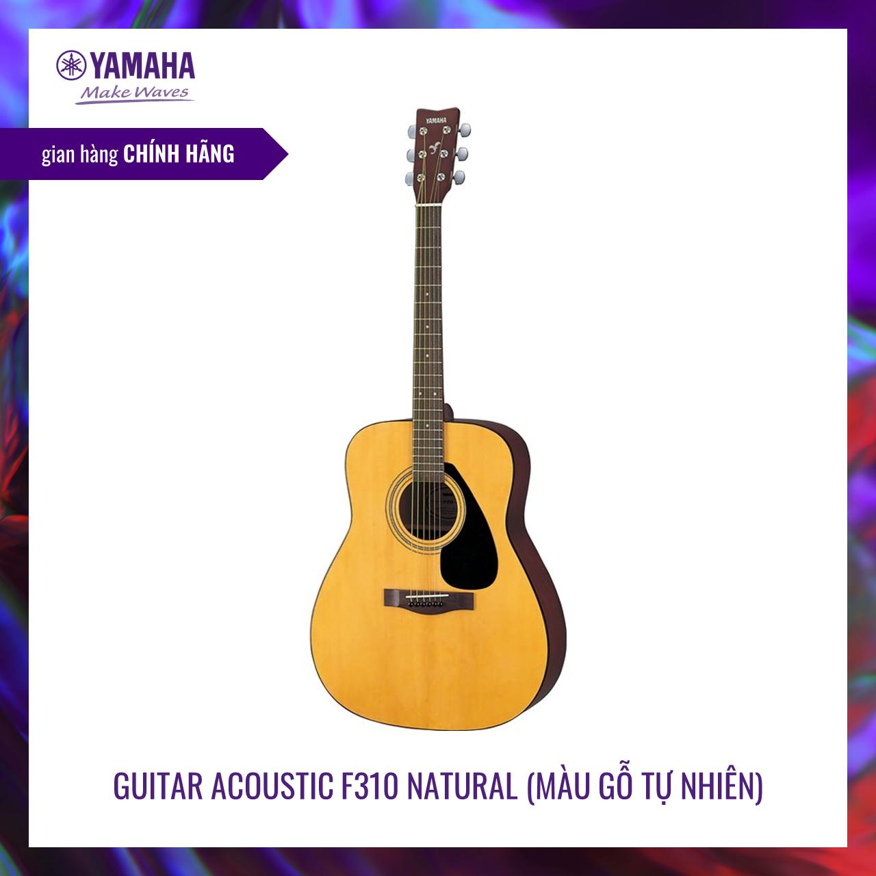 Đàn guitar classic Yamaha F310 – Thân đàn kiểu phương Tây truyền thống – Mặt đàn gỗ vân sam (spruce) xuất xứ từ Bắc Mỹ – Chất lượng Yamaha với giá cả phải chăng – Bảo hành chính hãng 1 năm