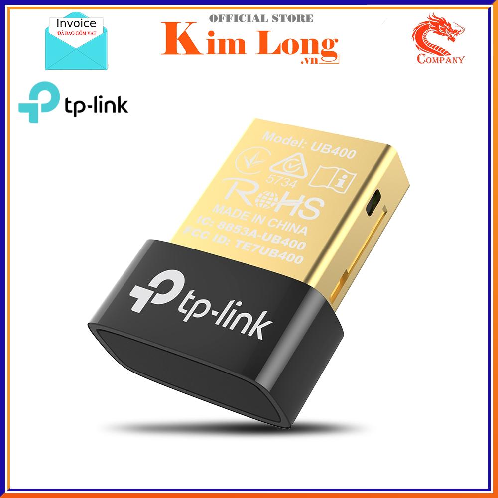 USB Bluetooth 4.0 TP-Link UB400 dùng cho máy tính – Bảo hành 2 năm chính hãng