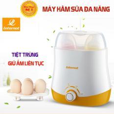 [HÀNG XỊN] Máy hâm sữa và tiệt trùng 4 chức năng giữ nhiệt liên tục sữa và nước cho bé