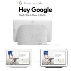 [Nhập ELJAN22 giảm 10% tối đa 200k đơn từ 99k]Loa thông minh trợ lý ảo với màn hình cảm ứng 7 inch – Google Home Hub (Nest Hub)