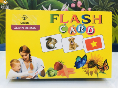 Bộ Thẻ Học Thông Minh Flash Card Glenn Doman Song Ngữ Cho Bé – Thẻ To 16×12 Cm – Hàng Chính Hãng