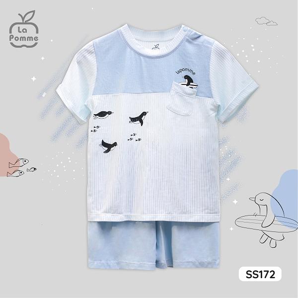 SS172 Bộ cộc La Pomme Chim cánh cụt