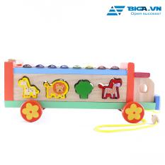 Đàn Gỗ Hình Xe Thú Cho Bé Yêu Dream Toy USA 2697