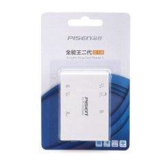 Đầu đọc thẻ nhớ Pisen All-in-1 USB 2.0 – 6 Slot (Trắng) – Nhất Tín Computer