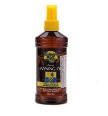 Dầu tắm nắng bảo vệ da Banana Boat Protective Tanning Oil SPF4 236ml