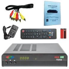 Đầu thu truyền hình kỹ thuật số mặt đất GBSHD T252 (Đen) – Hàng nhập khẩu