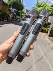 [Siêu PhẨm 2020] Bộ Micro Yamaha Không Dây Đa Năng Cao Cấp MAX 39 UHF 2 MIC,Micro không dây, Mic Bluetooth, Mic karaoke Cho Loa Kéo, Loa Kẹo Kéo, Loa Không Dây, Mic Đa Năng