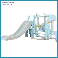 re0643 Cầu truợt xích đu cho bé nhựa nguyên sinh – Cầu trượt cho trẻ