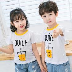 Mẫu áo phông cọc tay dành cho cả bé trai và bé gái
