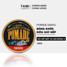 Pomade tạo kiểu tóc DASHU Classic Incredible Shine 100g Sáp vuốt tóc nam sáp tạo kiểu tóc nam giới vào nếp mạnh mẽ, giữ form lâu TM-PM02