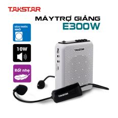 [Nhập EXCLUSIVEW501 giảm 10% tối đa 300k] Máy trợ giảng – Loa trợ giảng không dây Takstar E300W [ BH 1 NĂM ] – Máy trợ giảng không dây sử dụng sóng cao cấp UHF kết nối bluetooth ghi âm công suất lớn