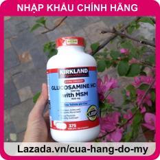 Viên Uống Glucosamine Bổ Xương Khớp Glucosamin Kirkland Mỹ 375 Viên [Date MỚI] – Hỗ trợ giảm đau, chống thoái hóa xương khớp
