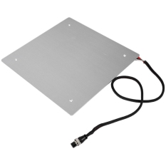3D Heated Bed Platform Kit Aluminum Alloy Printing Build Plate Size 310 x 310Mm Cable Installed Well with Thermal Insulator Cotton for Cr-10/Cr-10S 3D Printer