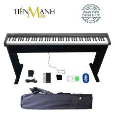 Bộ Đàn Piano Điện Konix PH88C – Kèm Chân Gỗ, Bao Đựng, Sustain Pedal, Giá để bản nhạc – 88 Phím nặng Cảm ứng lực – Midi Keyboard Controllers