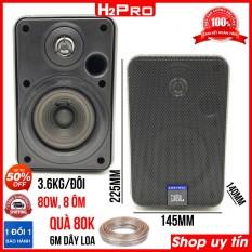 Đôi loa lời Control 1 Pro 80W H2Pro 80W-8 ôm (2 loa), hàng xịn nghe hay, loa quán cafe, nhà hàng (tặng 6m dây loa 80K)