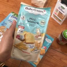 Bánh mỳ khô hữu cơ Babydream