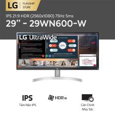 [TRẢ GÓP 0%] Màn hình máy tính LG IPS HDR (2560×1080) 75Hz 5ms 29 inches l 29WN600-W | HÀNG CHÍNH HÃNG