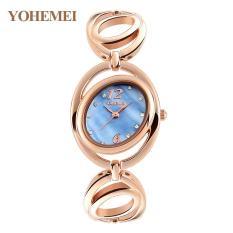 Đồng hồ nữ lắc tay đính đá YOHEMEI CH373 – D2A