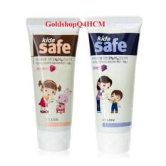 (HCM, HSD 2023) Kem đánh răng trẻ em Kids Safe 90g Hàn Quốc