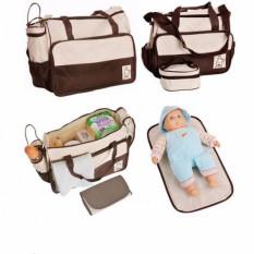 Bộ Túi Sách Mẹ Và Bé 5 Chi Tiết – Trẻ Sơ Sinh Và Trẻ Nhỏ – Đồ Đựng Và Sắp Xếp – Giỏ – Mẹ Và Bé – Túi Sách – Ba Lô – Du Lịch – Đồ Sơ Sinh – Đồ Dùng Gia Đình – Túi Vải – Túi Đựng Quần Áo – Quần Áo – Bỉm tã – Sữa em bé -Sinh em bé