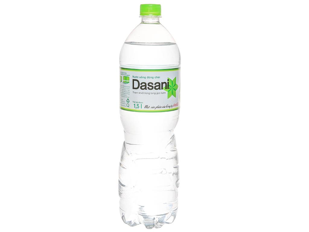 [Siêu thị VinMart] - Nước tinh khiết Dasani chai 1,5 lít