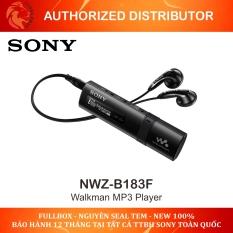 Máy nghe nhạc Sony WALKMAN MP3 NWZ-B183F / 4GB ( tai nghe kèm theo nghe nhạc FM radio ), Sản phẩm được bảo hành 12 tháng ( bảo hành điện tử)