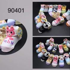 Tất Giày Hình Thú Cho Bé Yêu N90401# (Sét 20 Đôi)