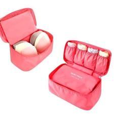 Túi Đựng Đồ Lót Đa Năng Monopoly Underwear Pouch (Hồng Đậm)