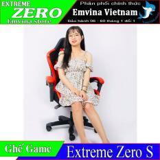 Ghế Chơi Game EXTREME ZERO S Vua Ghế Gaming Phân Khúc Dưới 2 Triệu Ghế Live Stream Video Game Văn Phòng Làm Việc Học Tập Giải Trí Chức Năng Nâng Hạ Cao Thấp Chân Xoay Ngã Lưng 150 Độ 2 Gối Tựa Emvina Vietnam