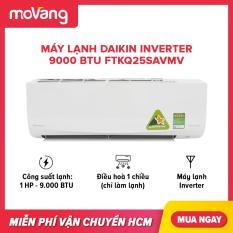 Máy lạnh Daikin Inverter 9000 BTU FTKQ25SAVMV