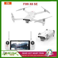 Flycam Xiaomi Fimi X8 SE Gấp Gọn, Gimbal Trống Rung 3 Trục, Quay Phim 4K, Tầm xa 5KM, Thời Gian Hoạt Động 33 Phút ( xiaomi. fimi A3. mi drone 4k, hubsan zino, mavic air, dji spark)