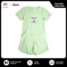 [Sản phẩm mới] Đồ mặc nhà cotton iBasic HOMY028 tặng túi bảo vệ môi trường